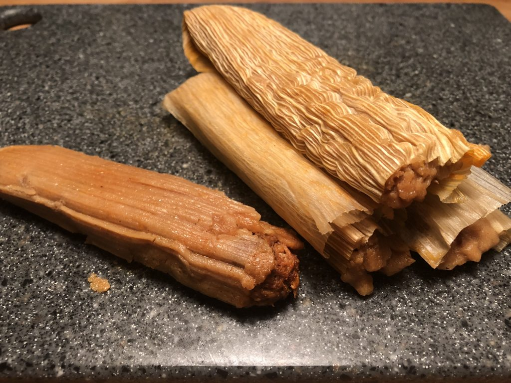 An image of Mexican tamales