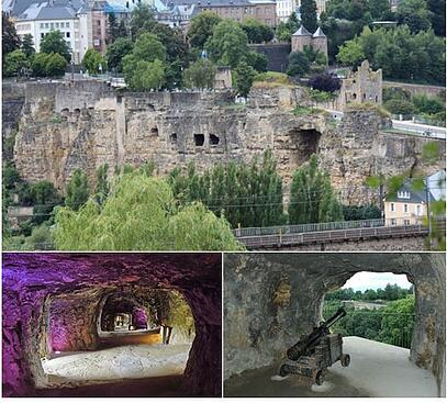 Images of the Bock Casemates