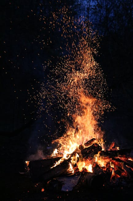 An image of a bonfire.