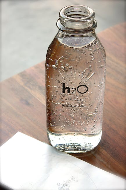 Image of a bottle of water