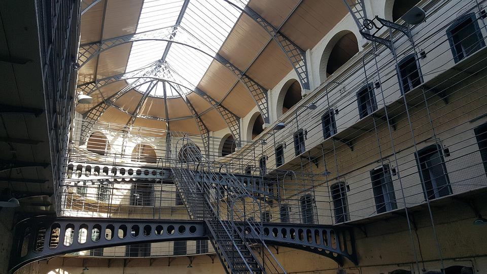 An image of Kilmainham Gaol Prison Dublin