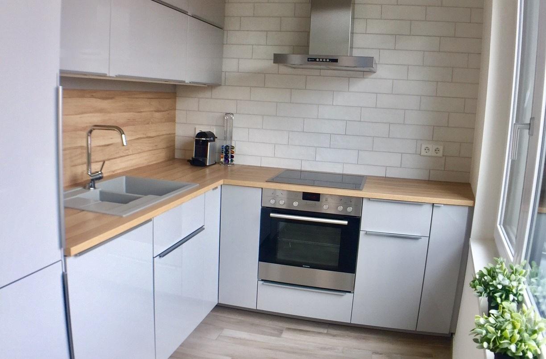 Dwellworks serviced apartment Ohmstrasse kitchen