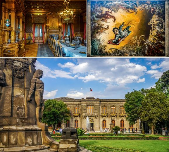 Images of Chapultepec Castle
