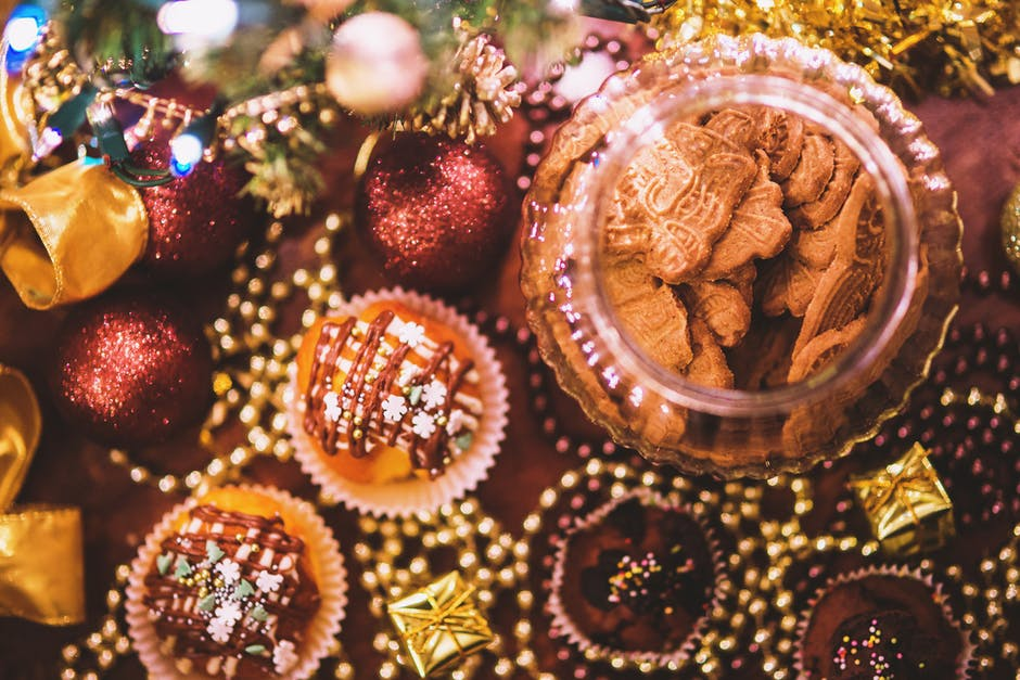 Image of Christmas cookies and sweets