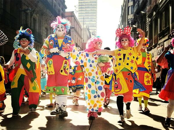 Image of clowns