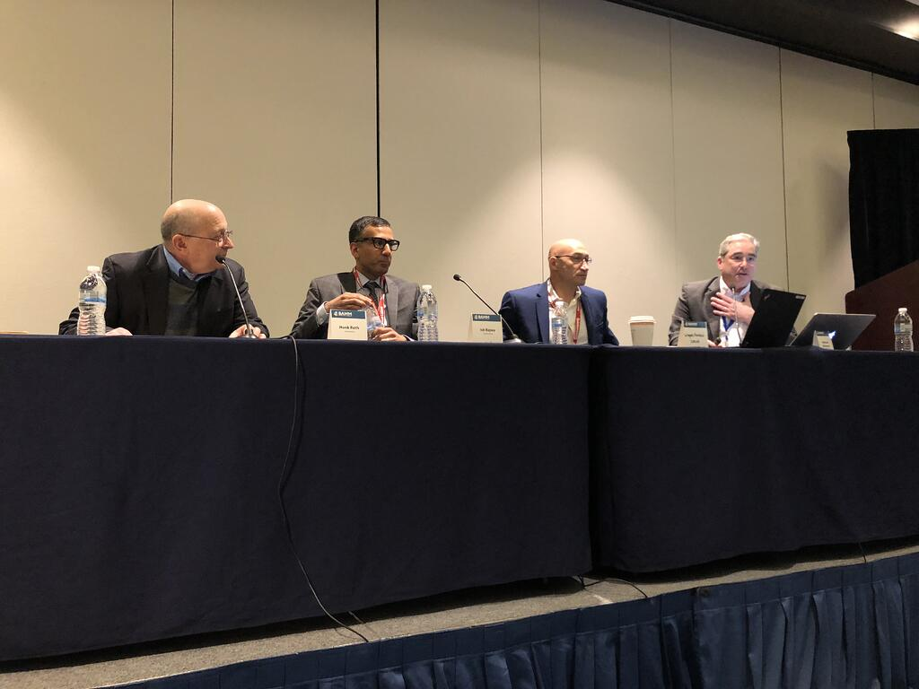 Image of the panelists at BAMM