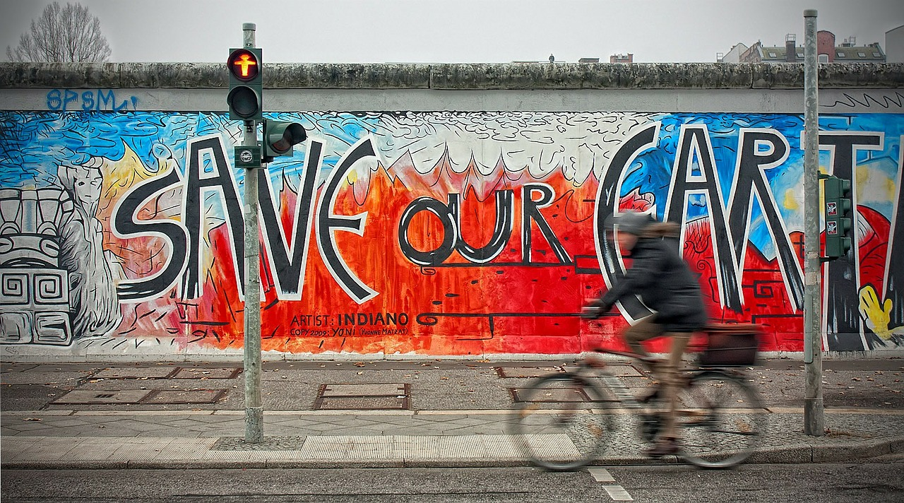 Image of the East Side Gallery