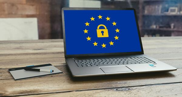 Image of a secure laptop