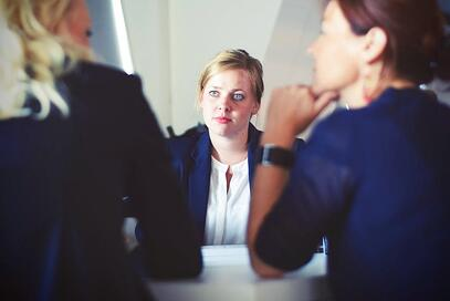 Image of a human resources professional in a meeting