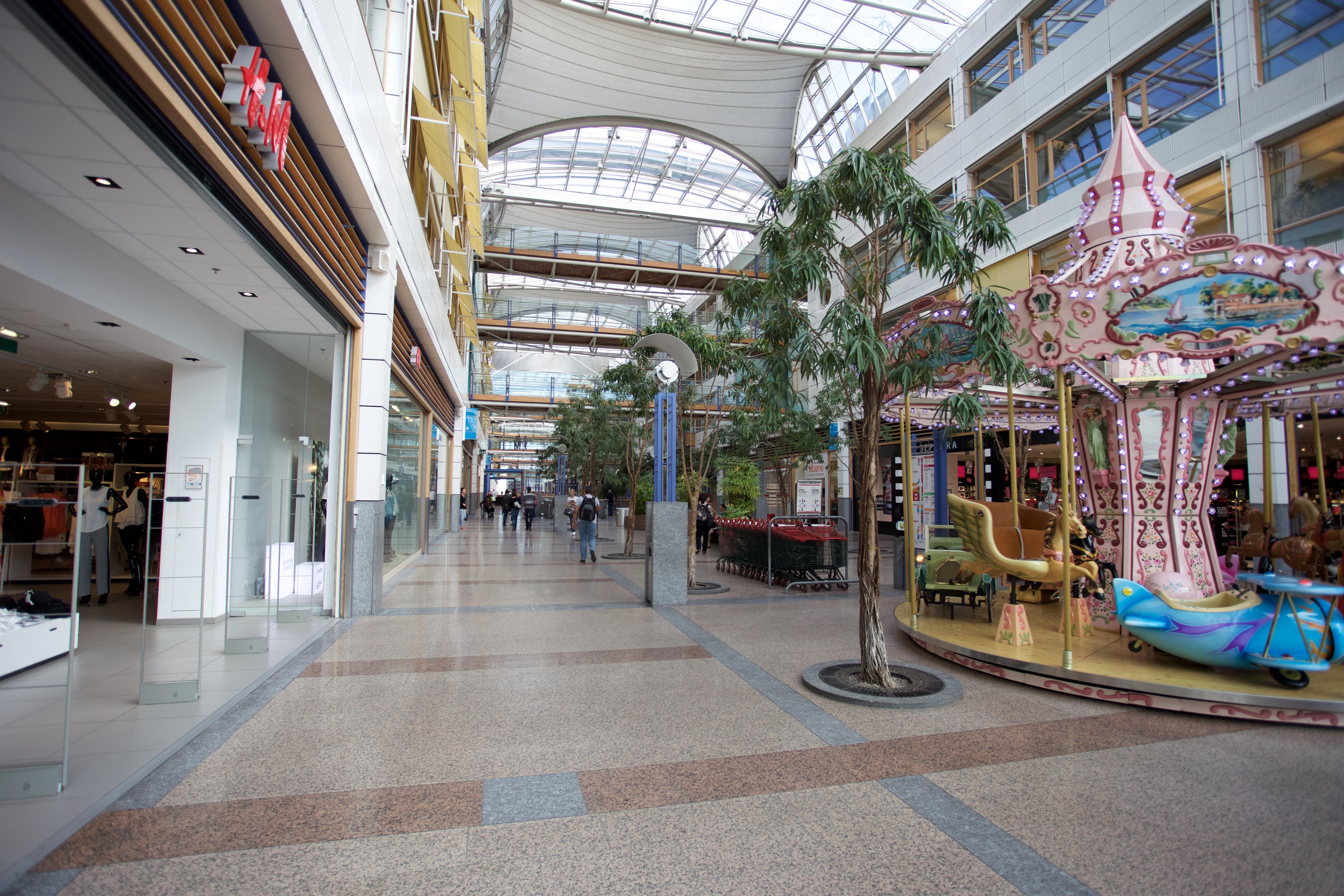 An image of the Auchan Kirchberg Mall