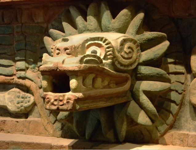 Image of a Mayan artifact