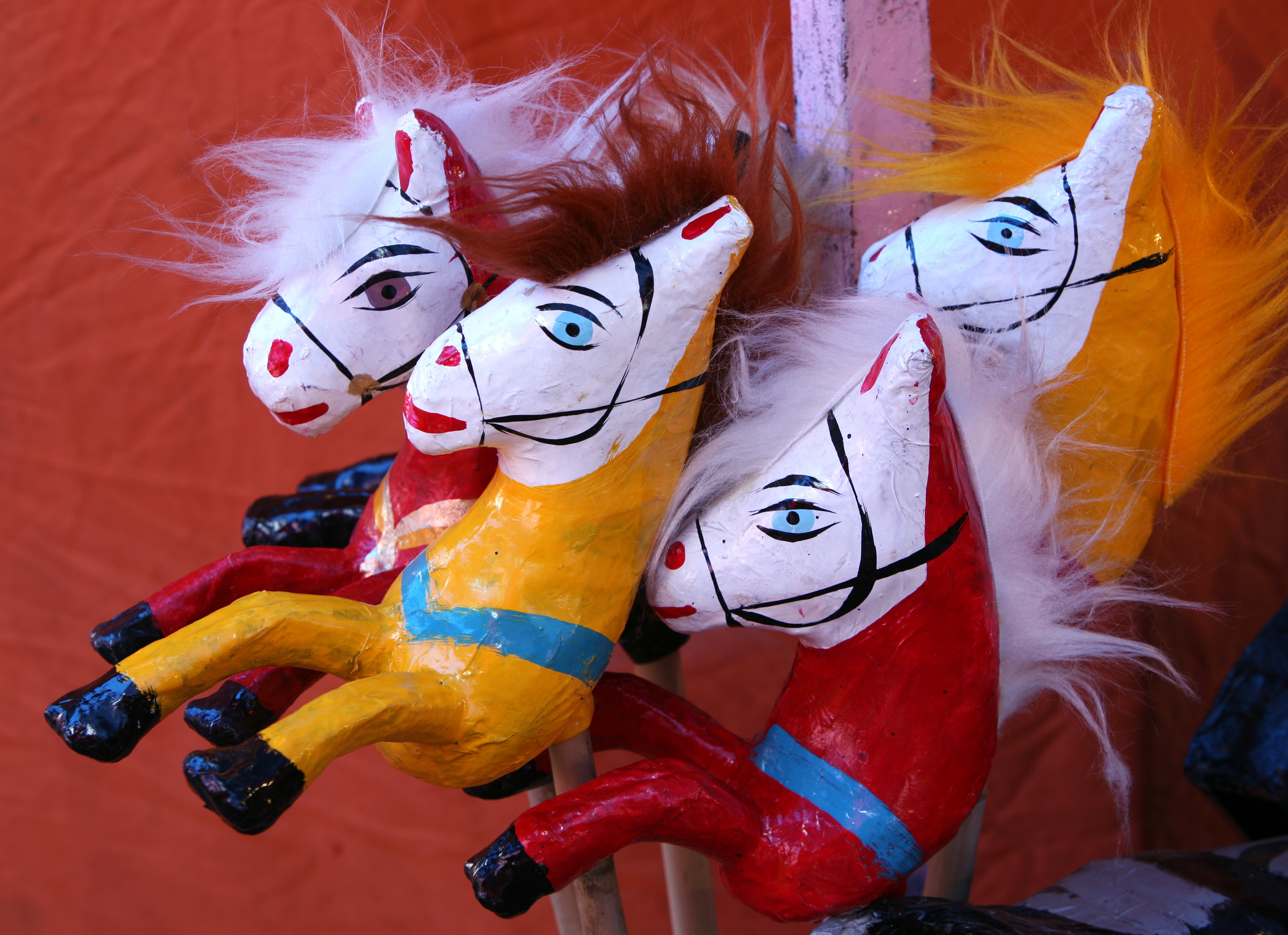 Image of old Mexican toys