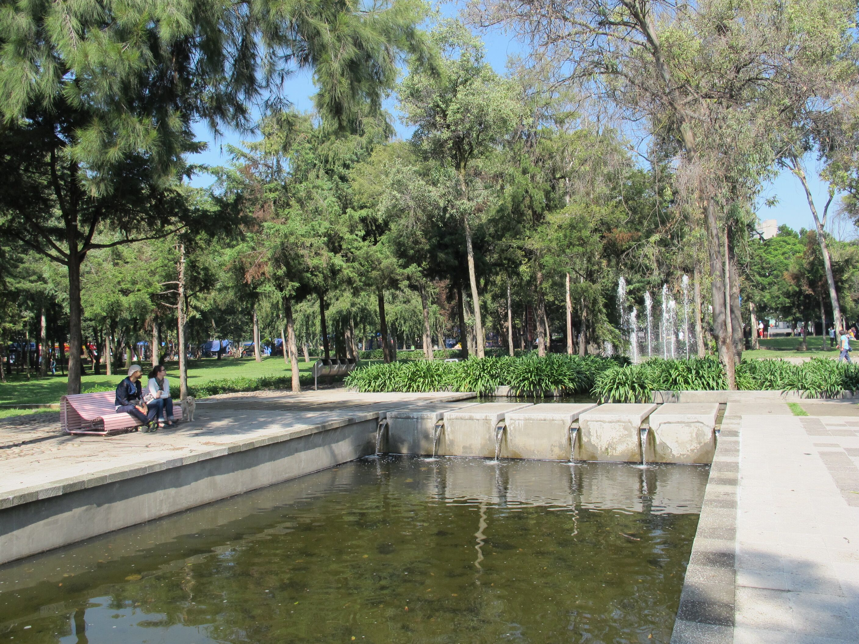 An image of one of Polanco's many parks.
