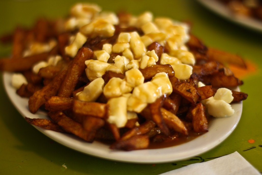 An image of poutine