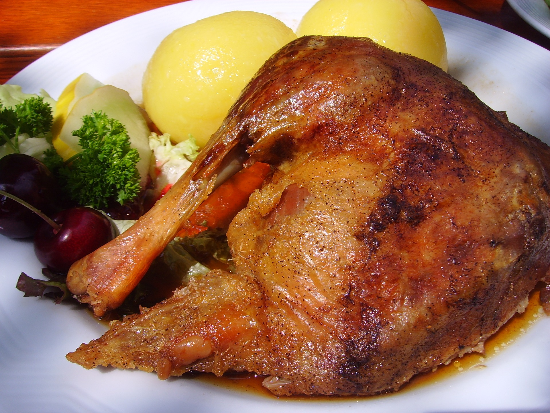 An image of roast goose
