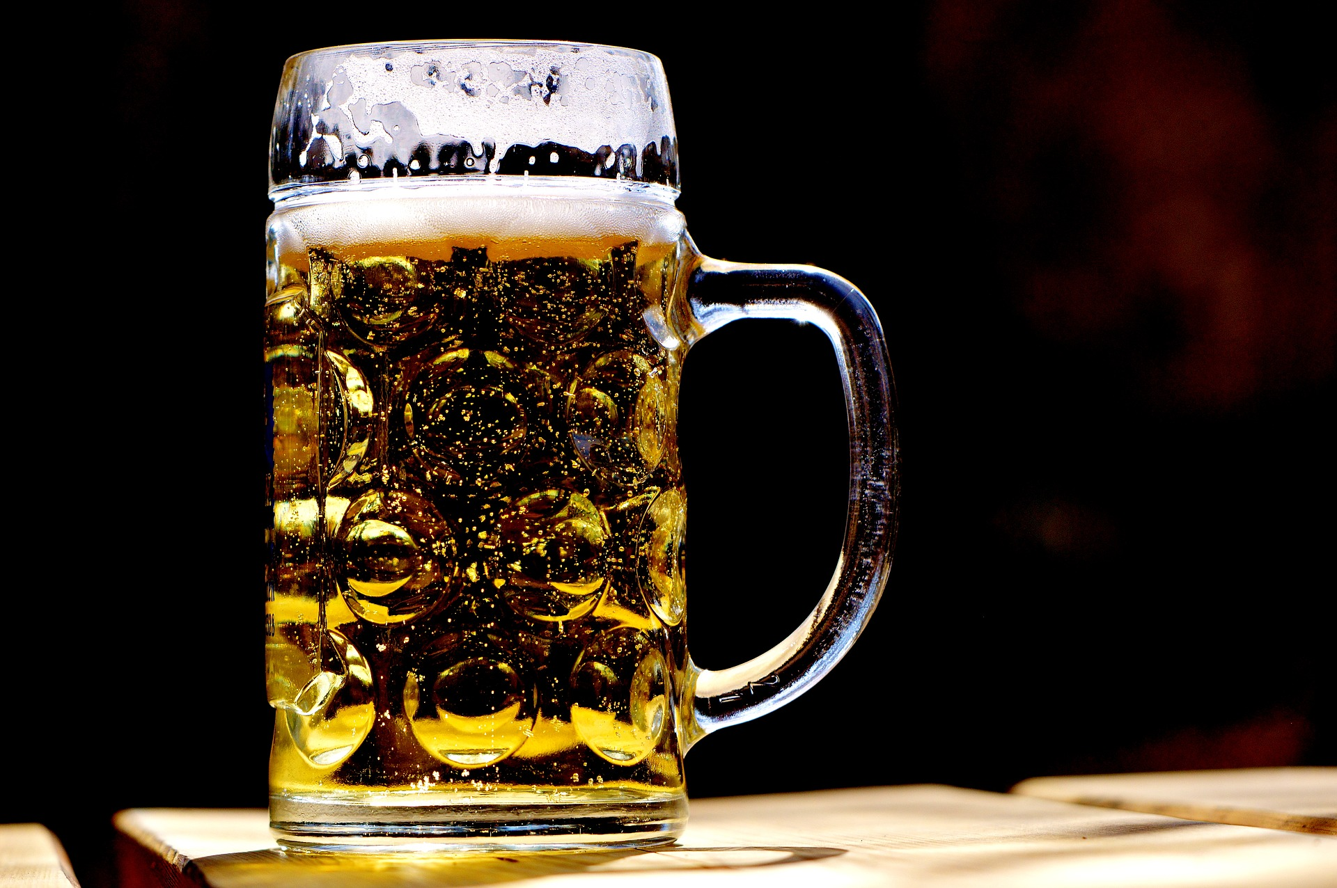 Image of a stein glass