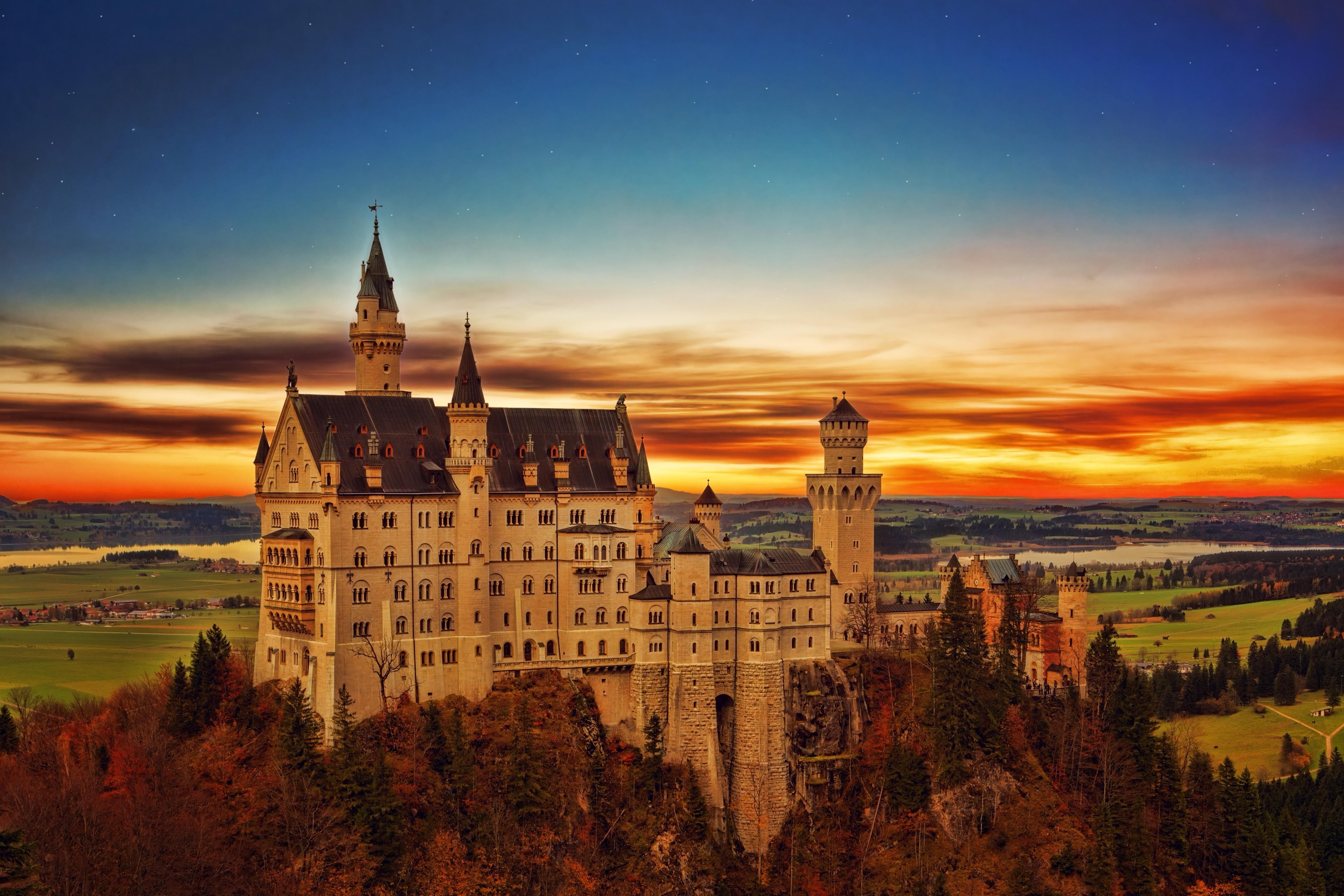 Image of Neuschwanstein Castle in Germany