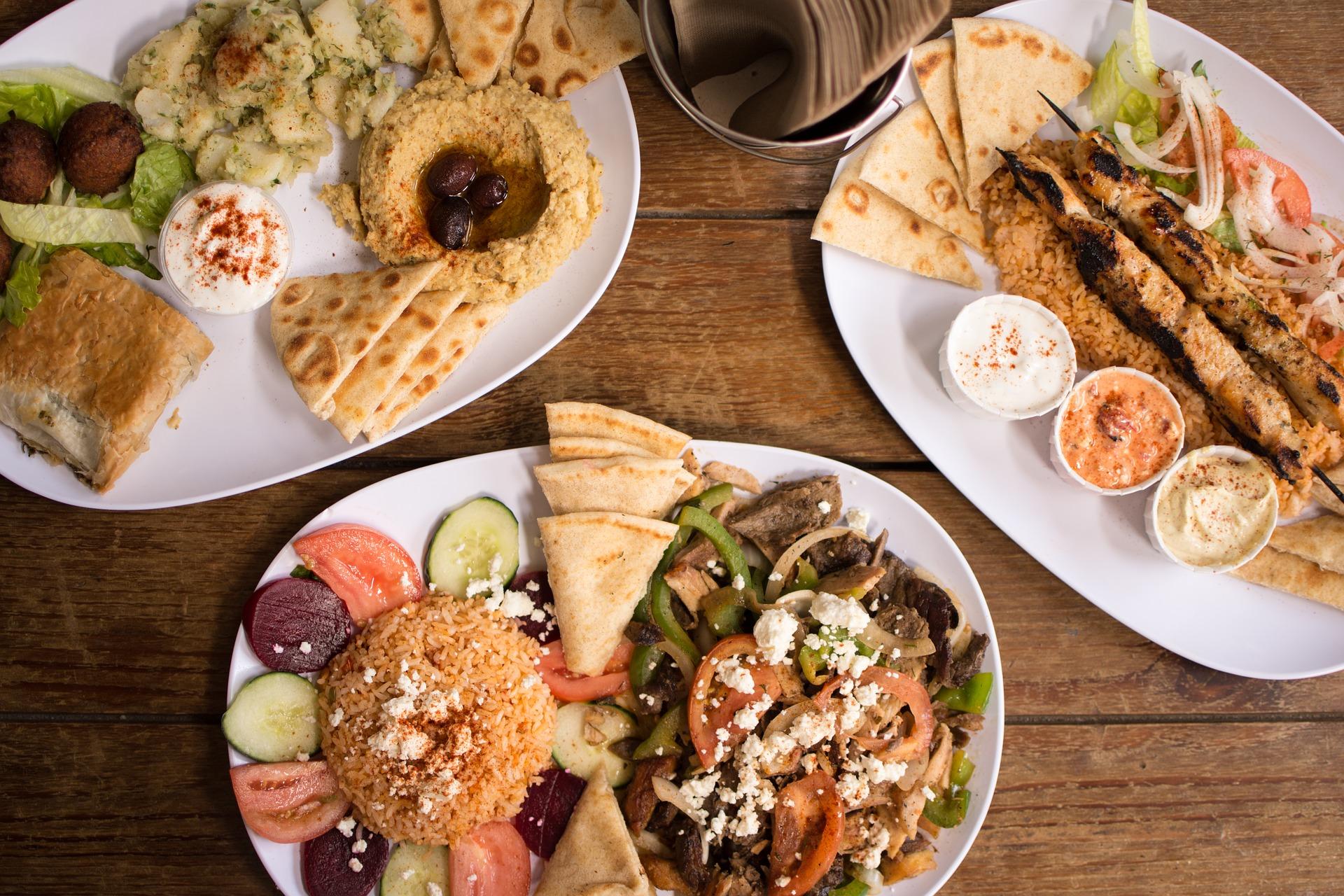 Image of food in the UAE