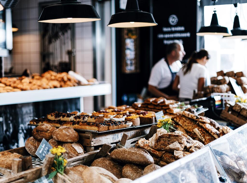 Image of a bakery in the Netherlands