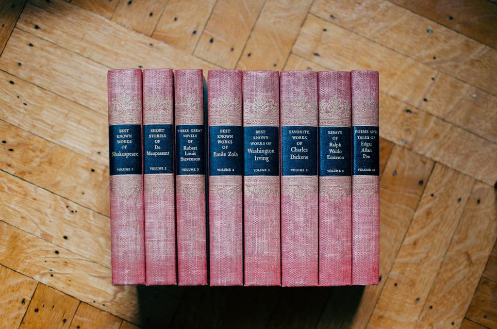 Image of English books