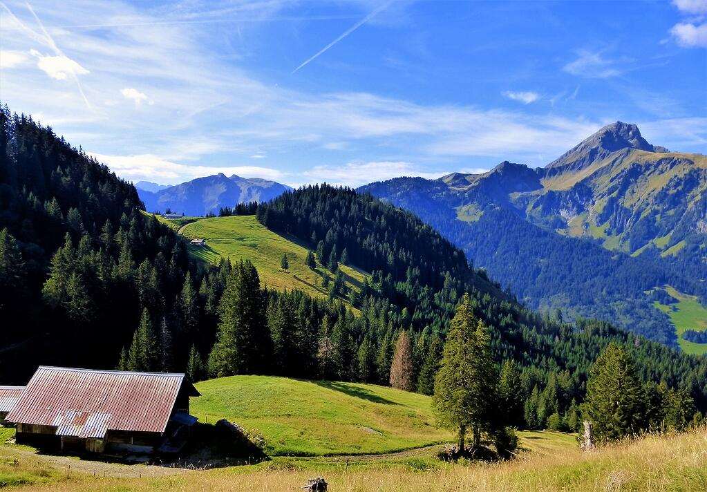 Image of the mountains in France