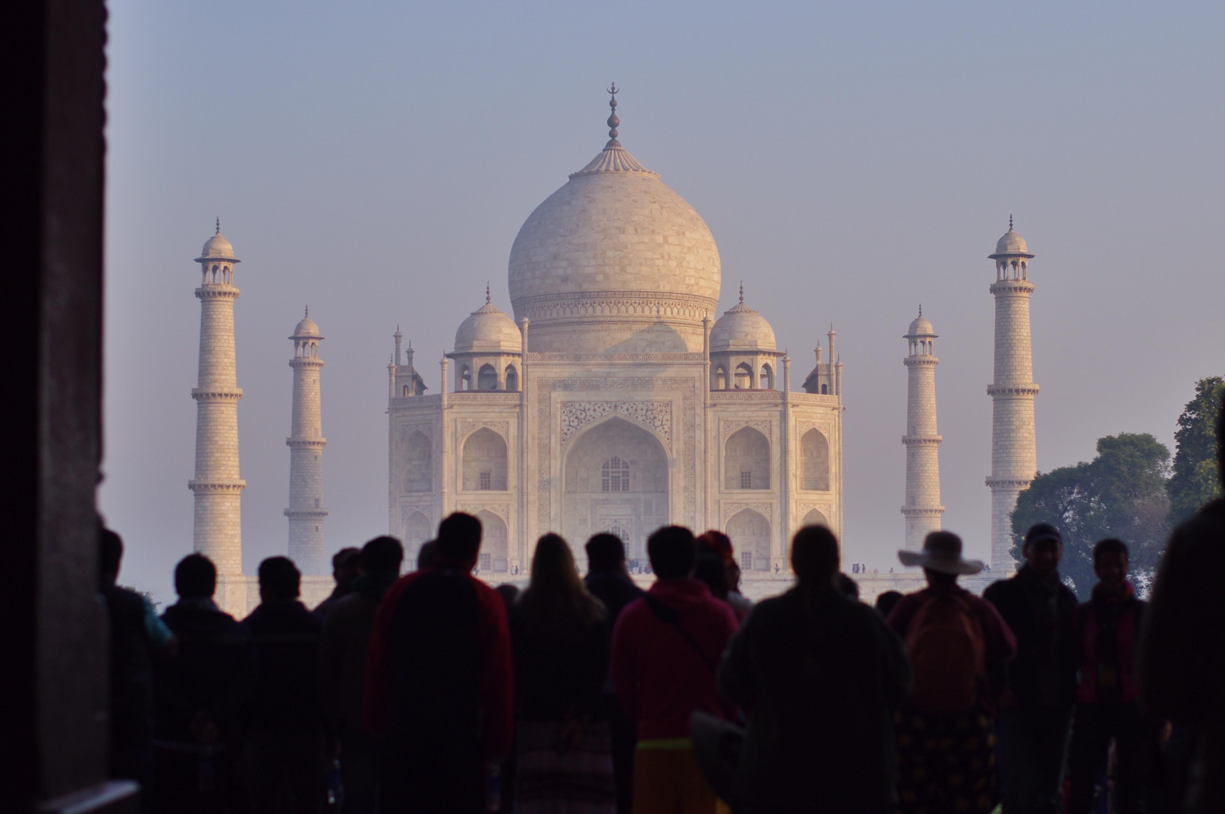 Image of the Taj Mahal in India
