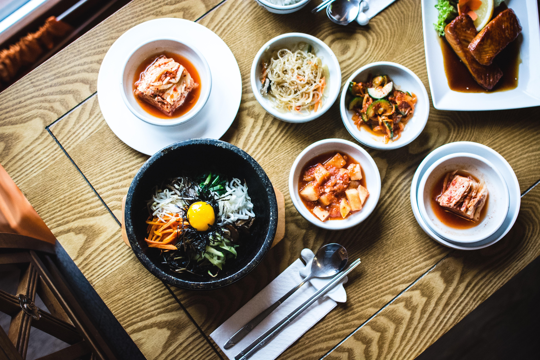 Image of Korean food