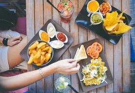 Image of food in Mexico