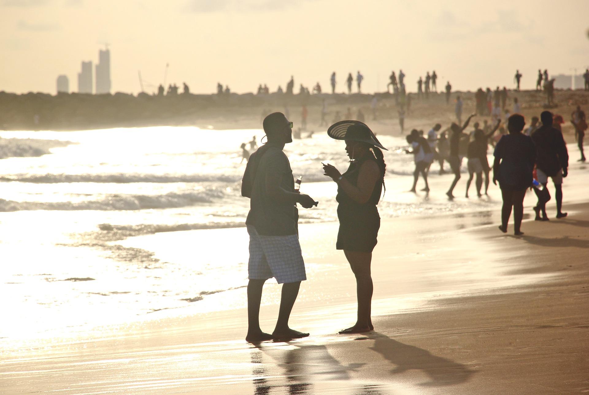Image of a beach in Lagos, Nigeria