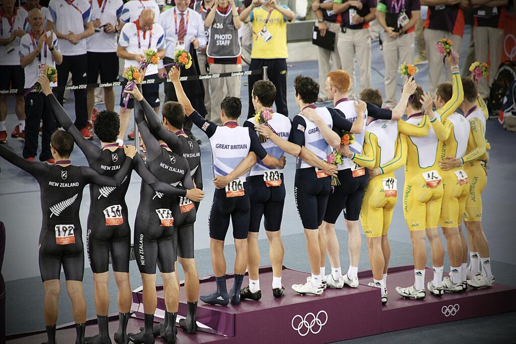 Image of successful Olympic teams