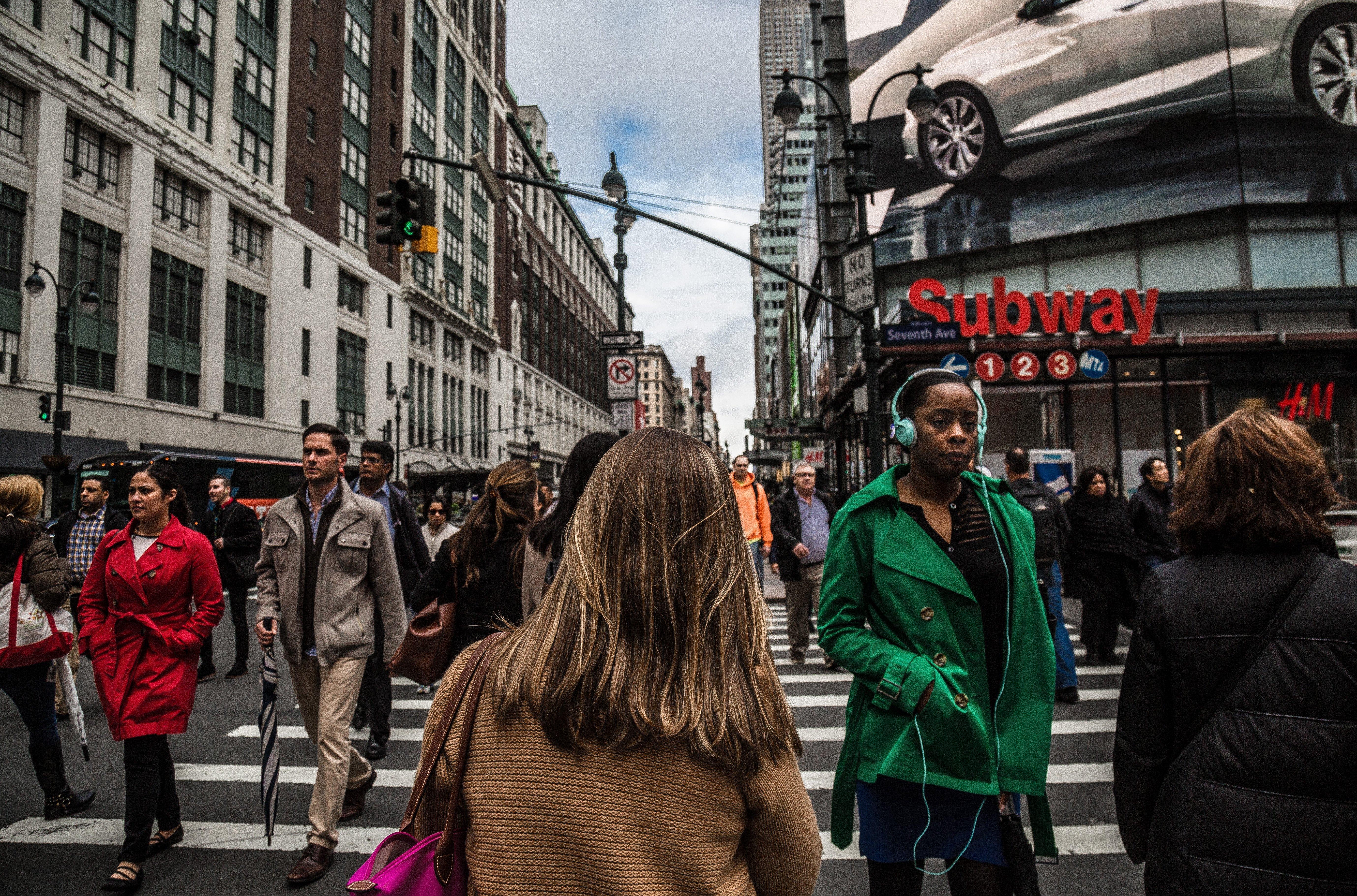 NYC city street