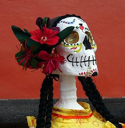 Image of a sugar skull