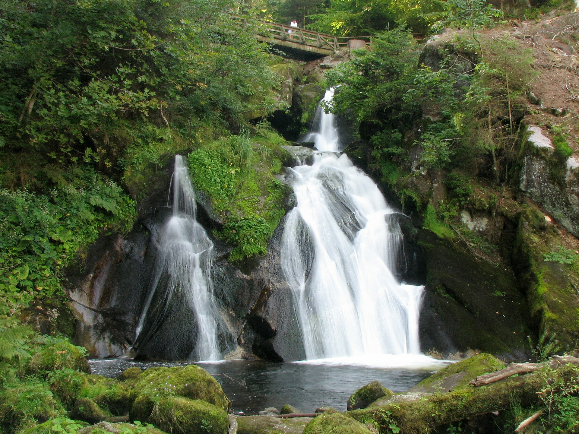 Image of the Triberg Waterfall