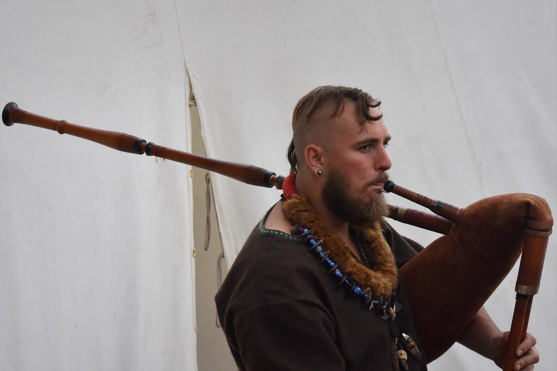 Image of a viking re-enactor