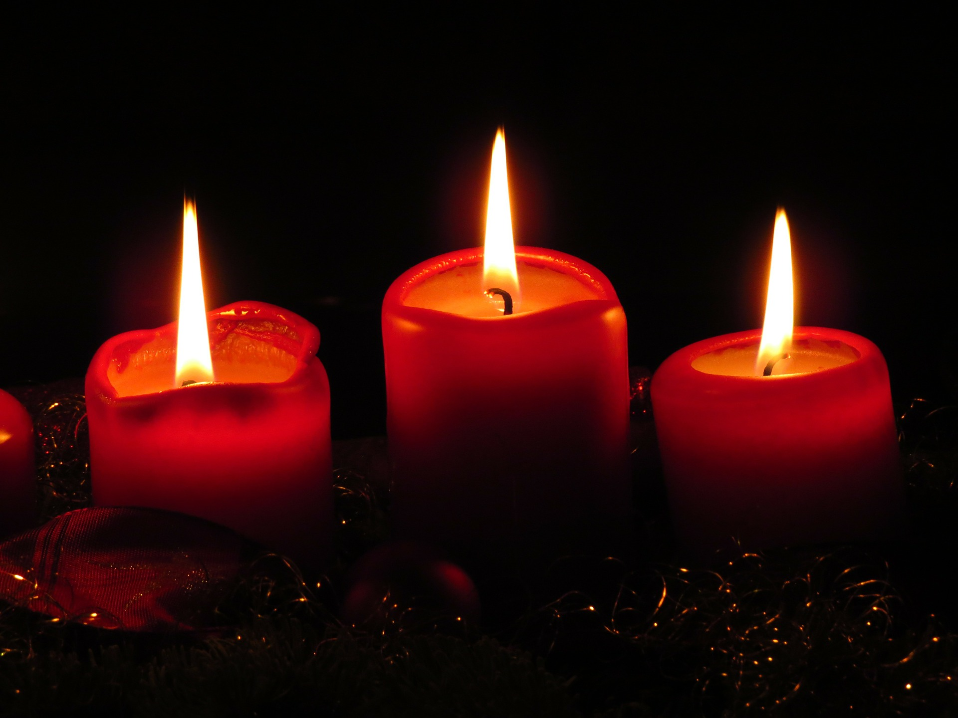 Image of candles in corporate housing