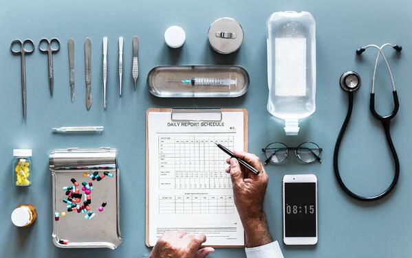 photo of medical equipment