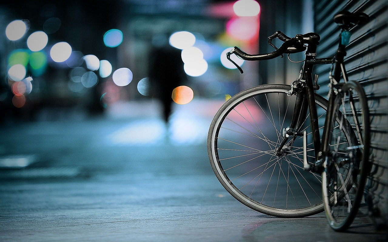 Image of a bicycle in Mexico City