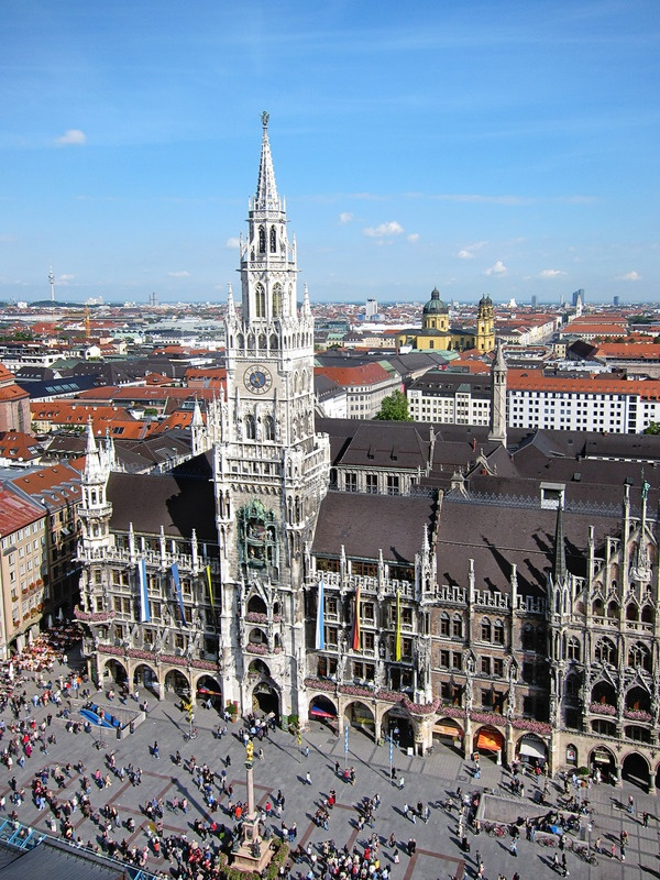 An image of Marienplatz