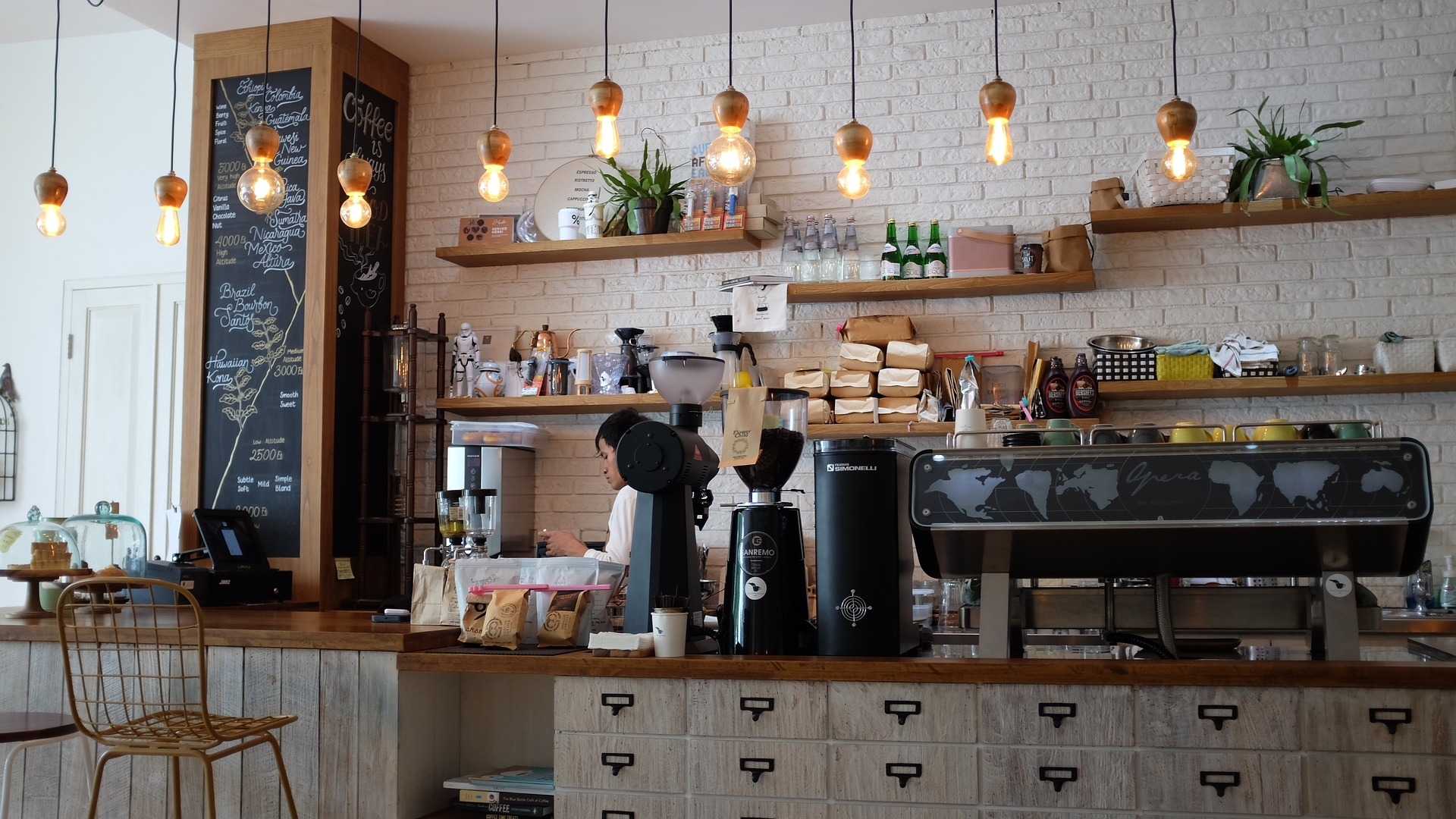 Image of a favorite local coffee shop