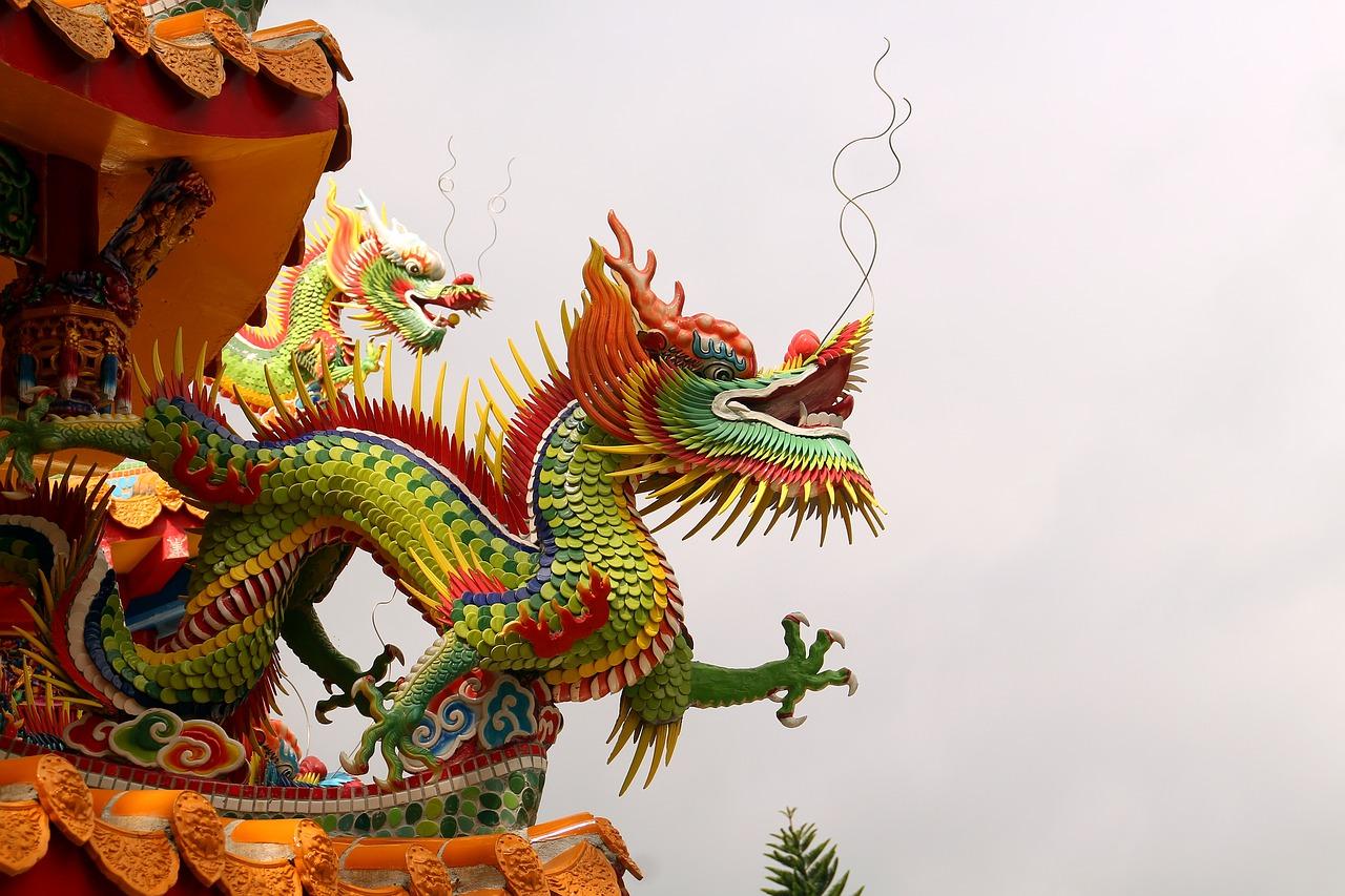 Image of a dragon in Taiwan