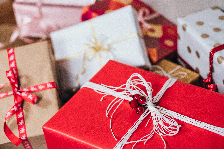 Image of Christmas gifts