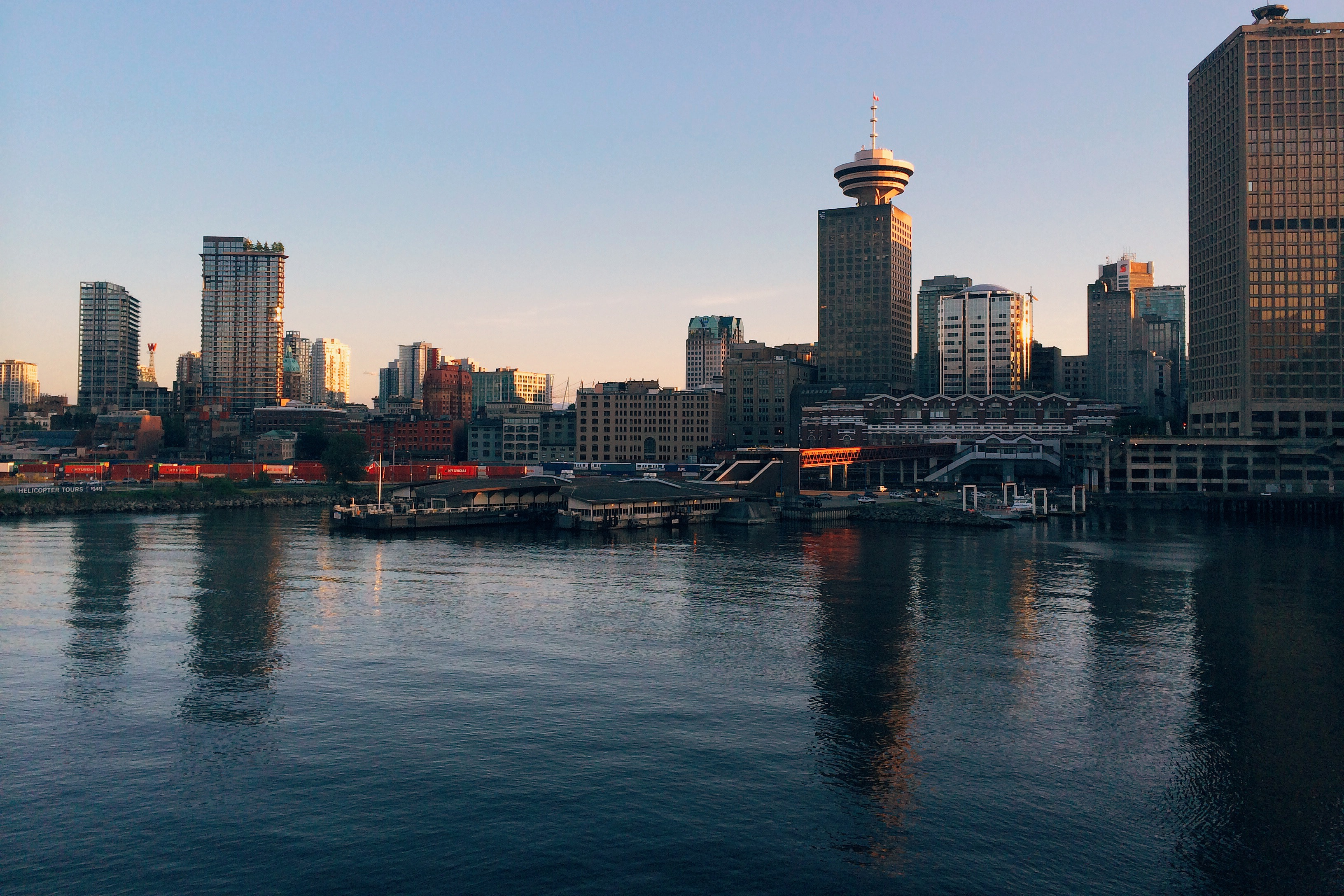 A photo of downtown Vancouver