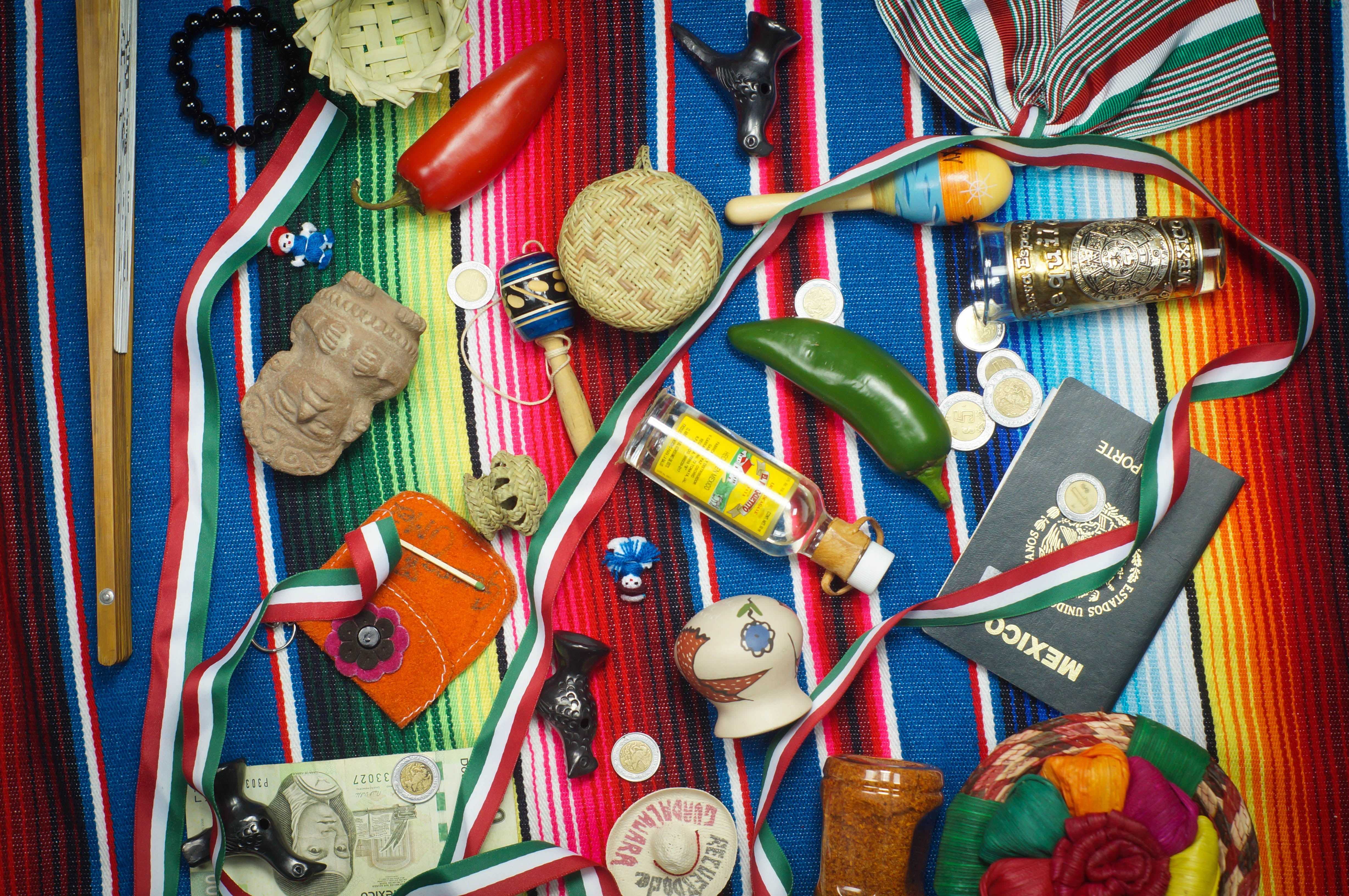 Image of assorted items in Mexico City