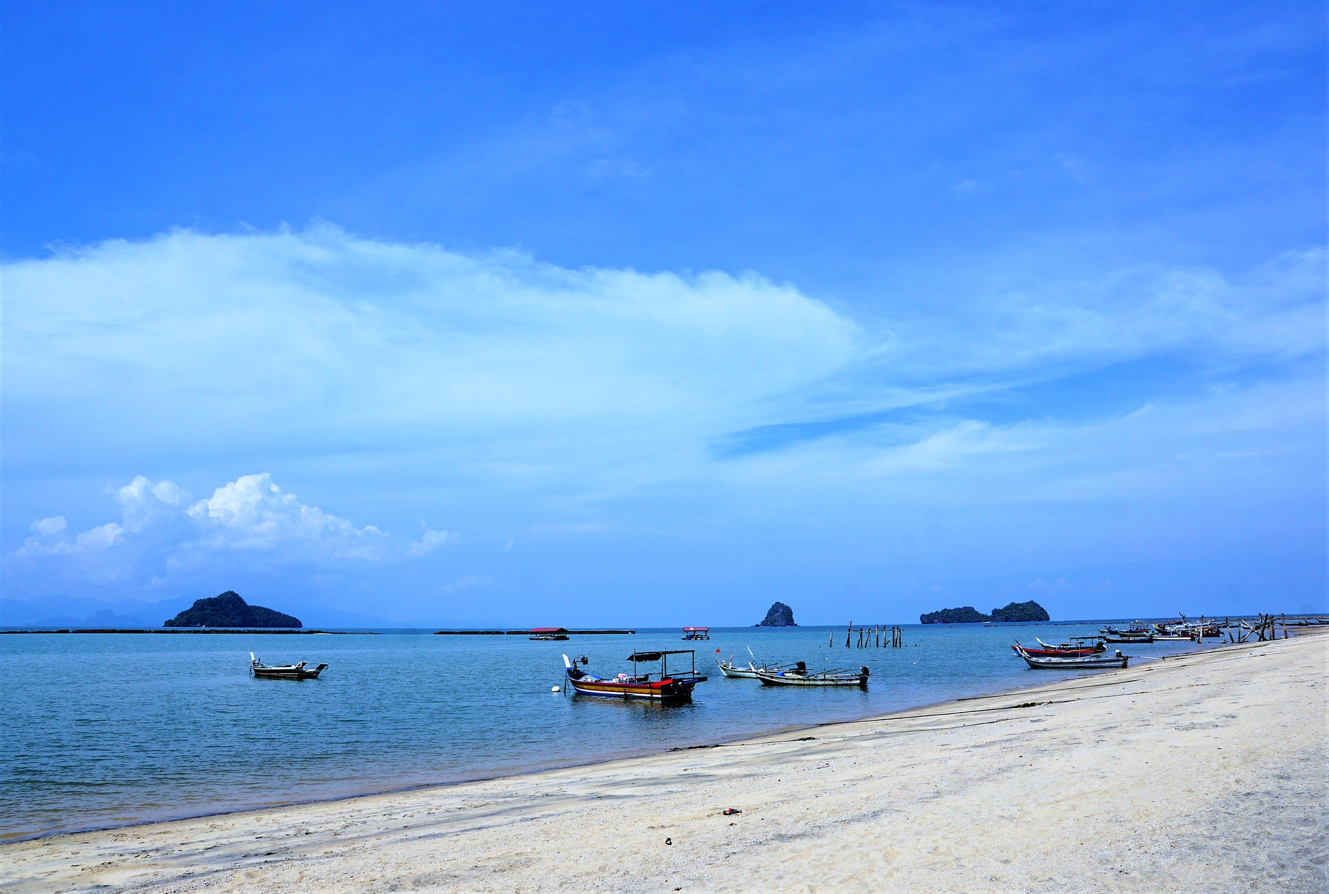 Image of a beach in Malaysia