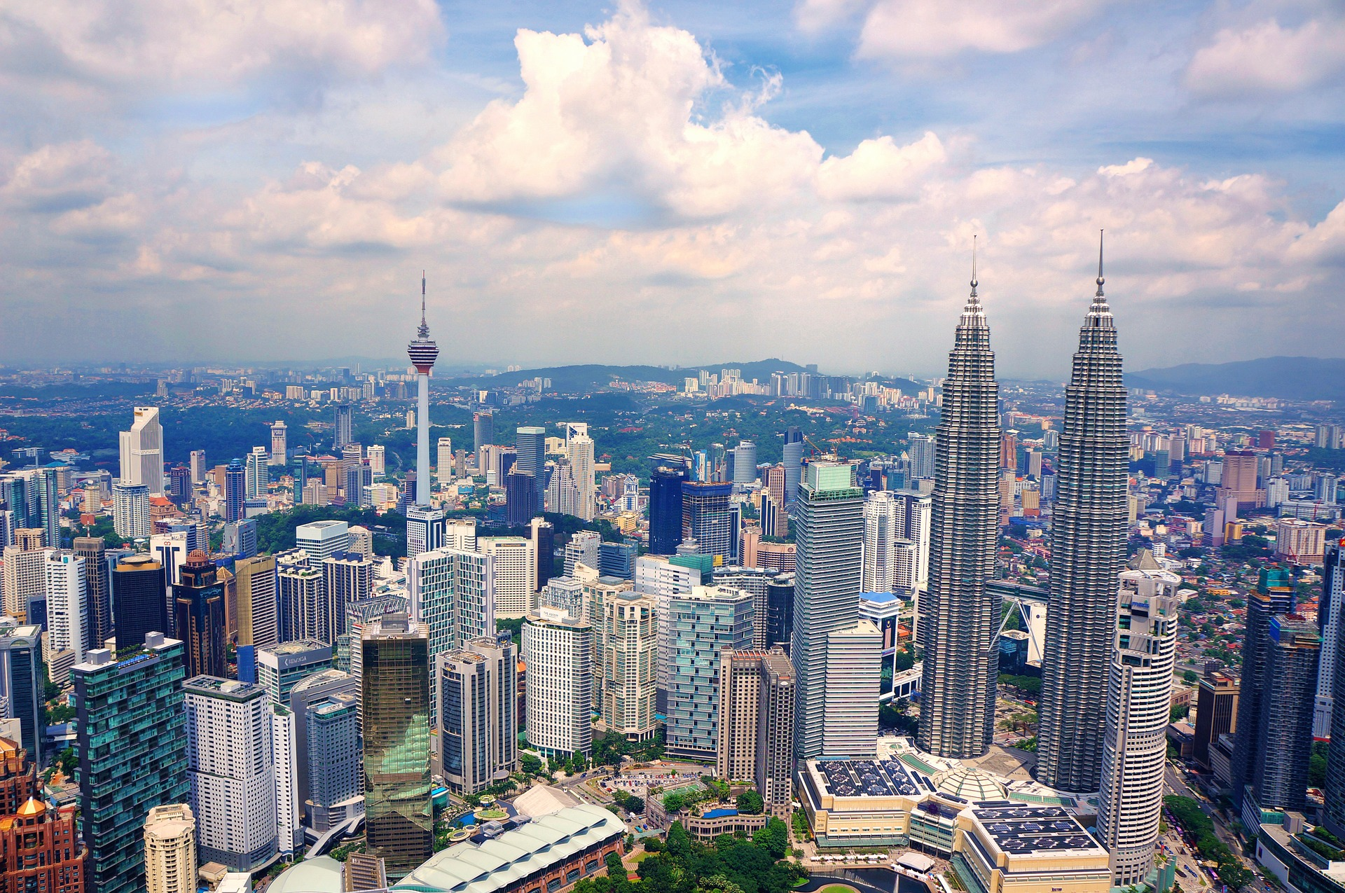 Image of the skyline of Malaysia