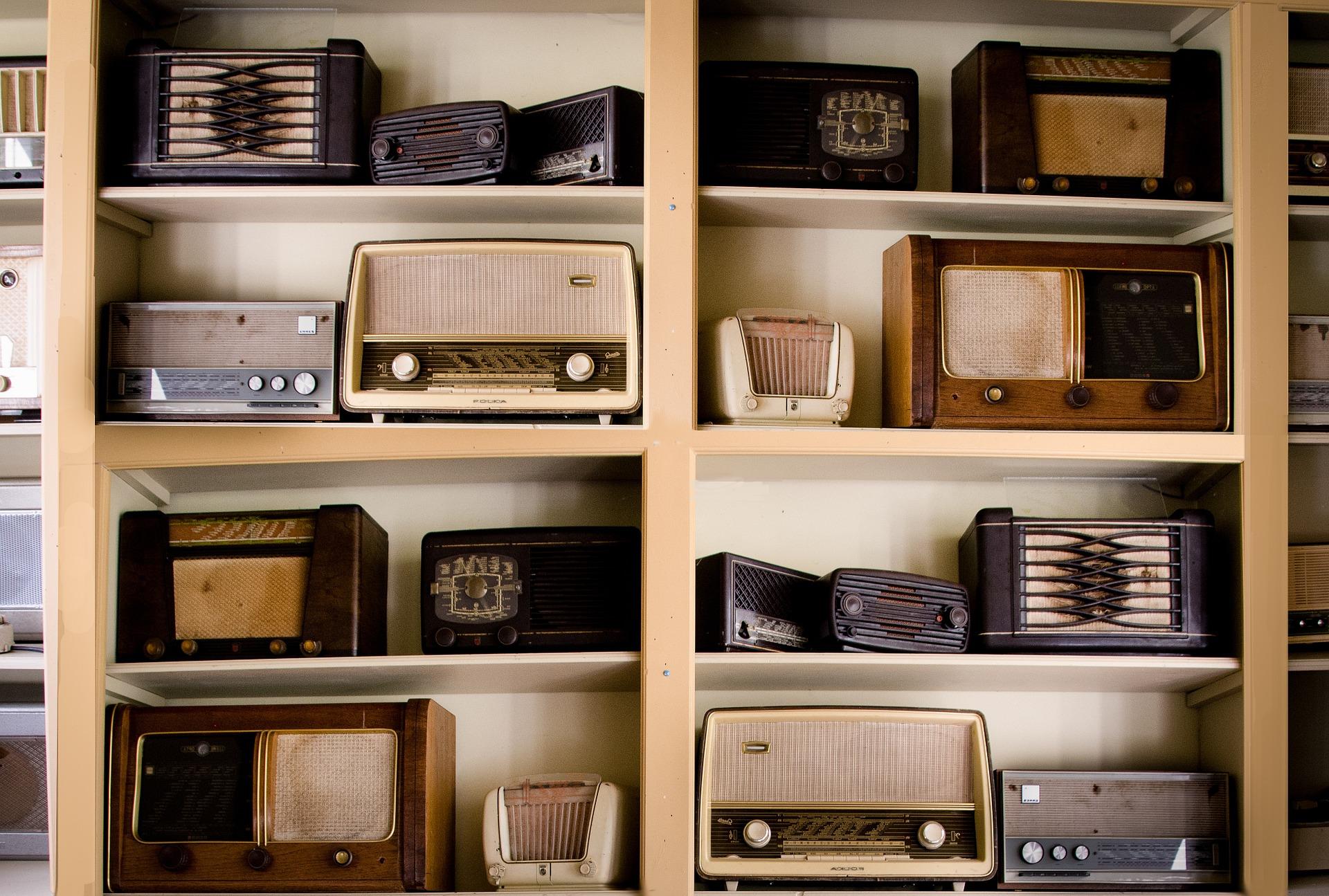 Image of vintage radios