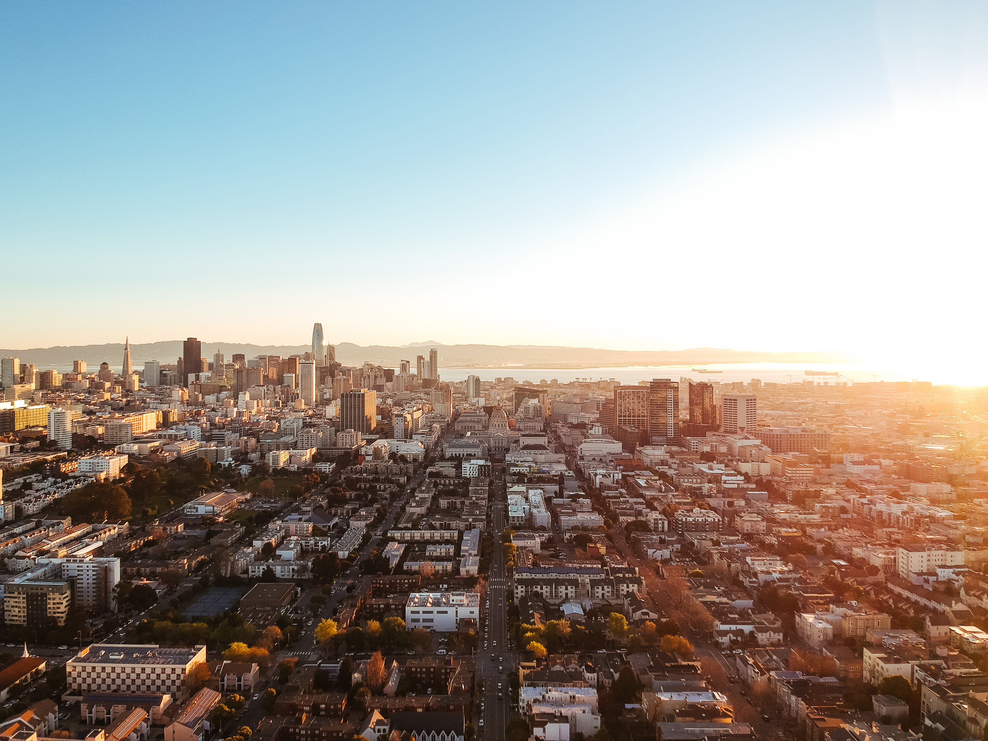 Image of San Francisco, a hub of the tech industry