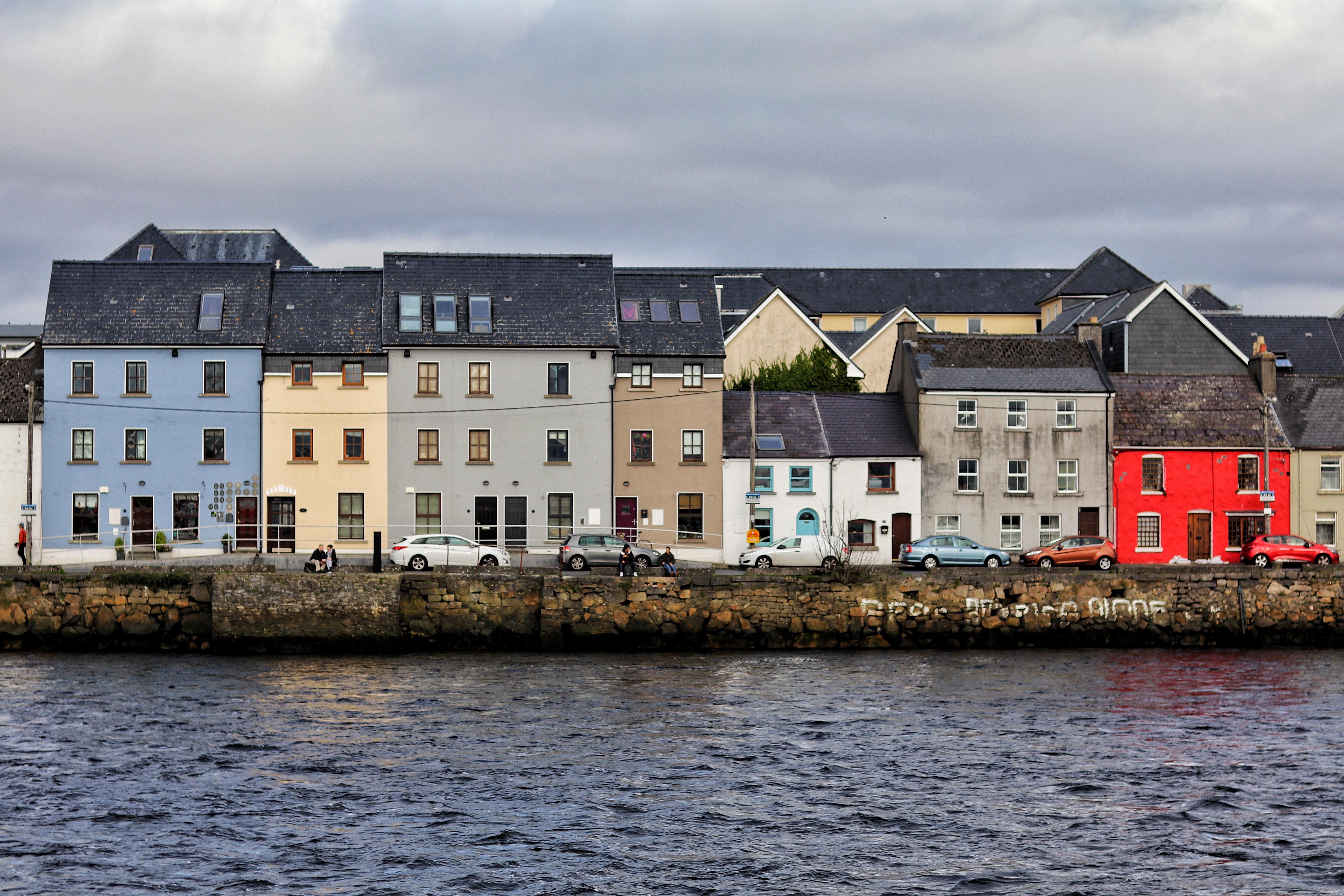photo of buildings in Galway, Ireland