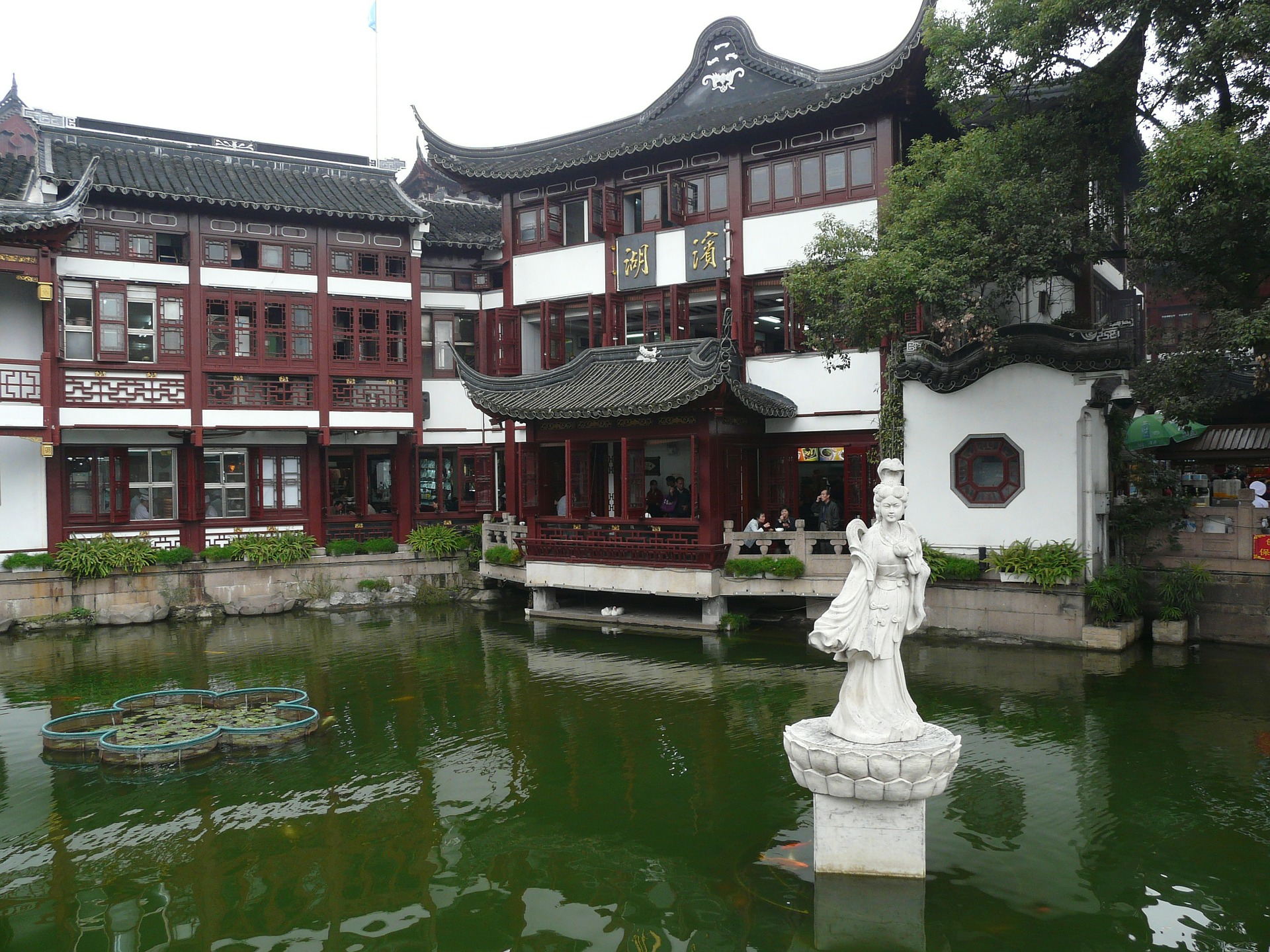 Image of a historic area in Shanghai