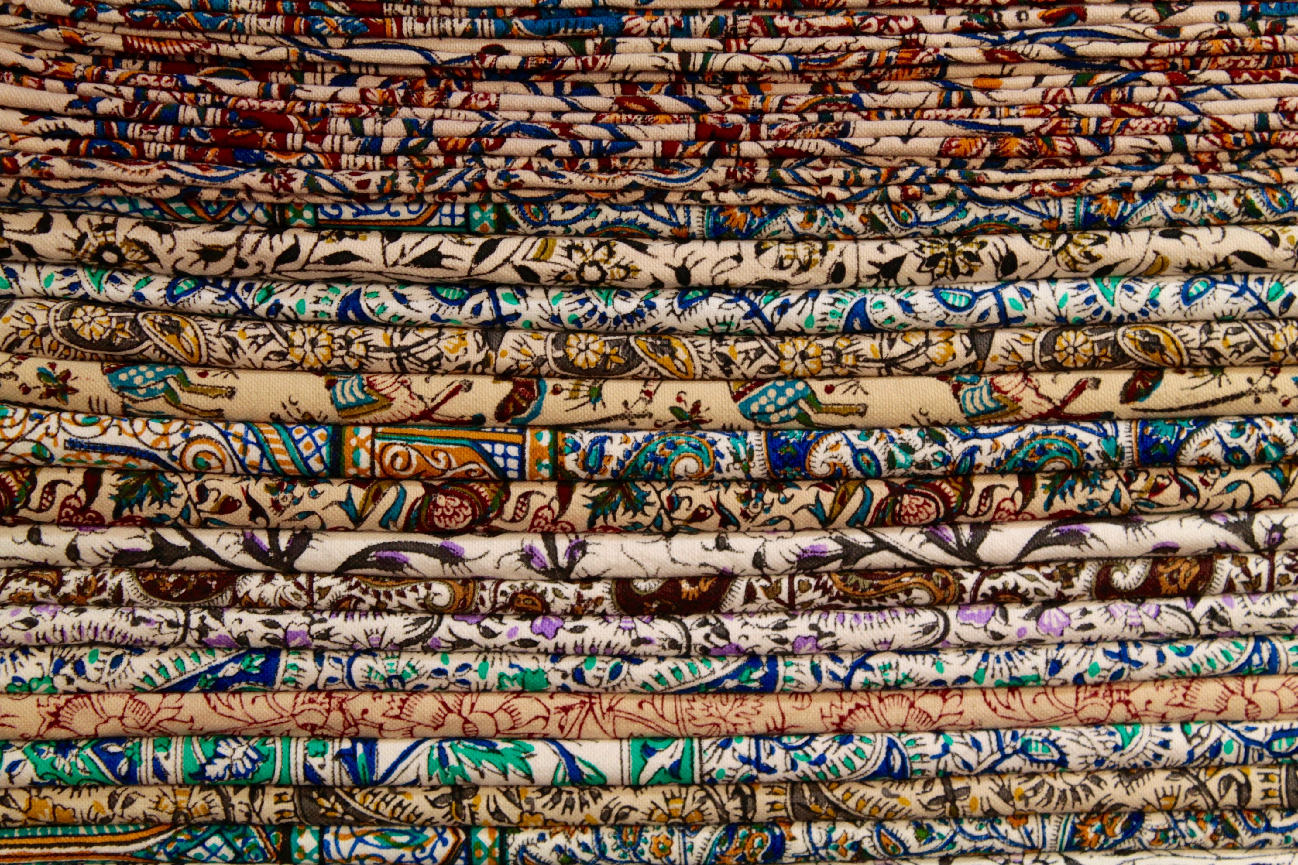Image of Persian fabrics